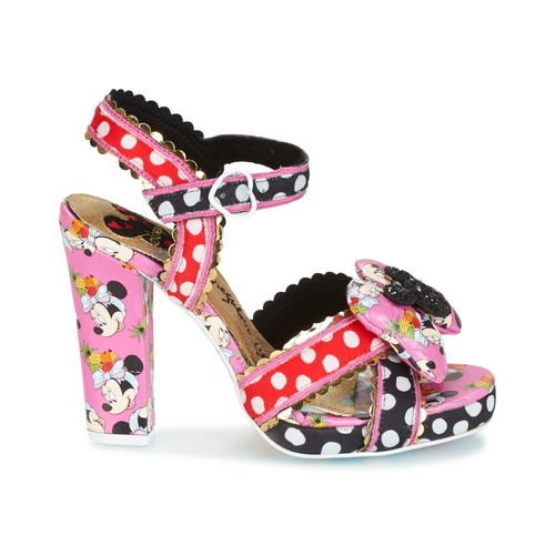 Dotted Minnie High Heels you can wear in Disneyland and Duckburg