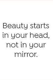 Beauty starts in your head not in your mirror #beauty #beautyquotes #quotes #inspiration #inspirational #motivation #motivational