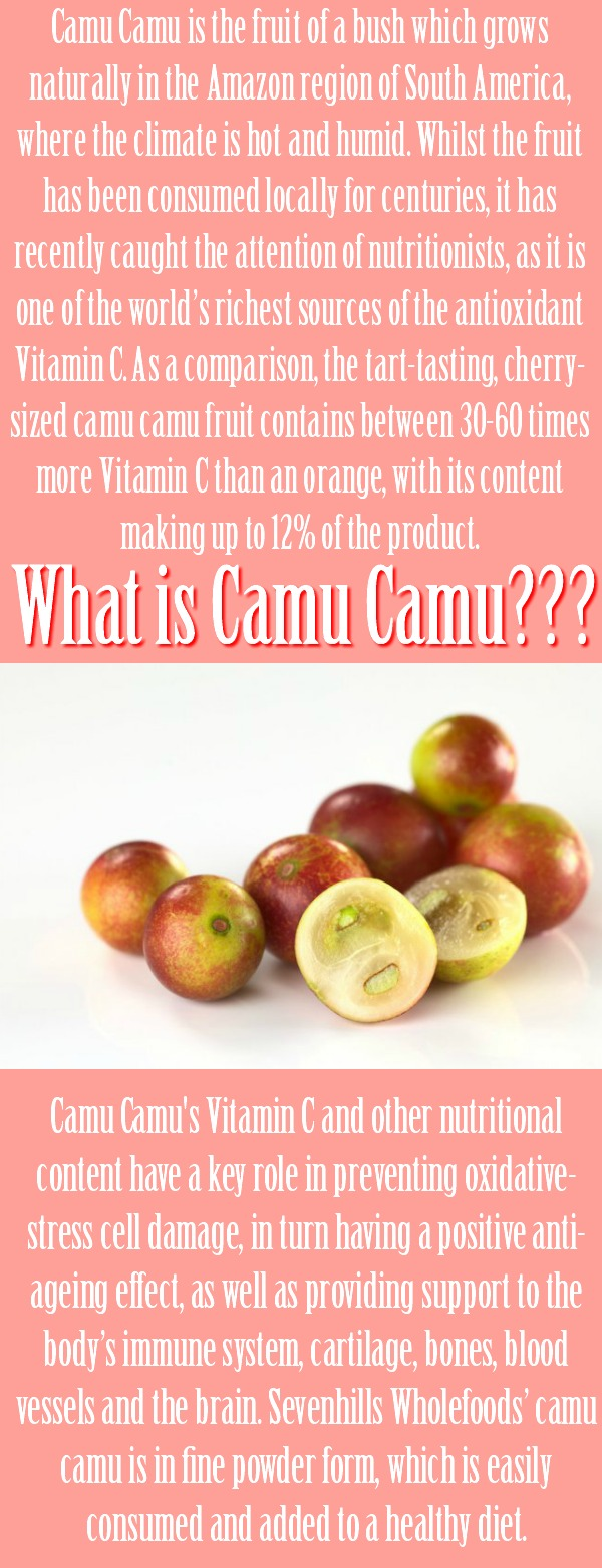 Have you already heard of the new super food Camu Camu? It doesn't just let you drop your pounds quicker, it also does this....