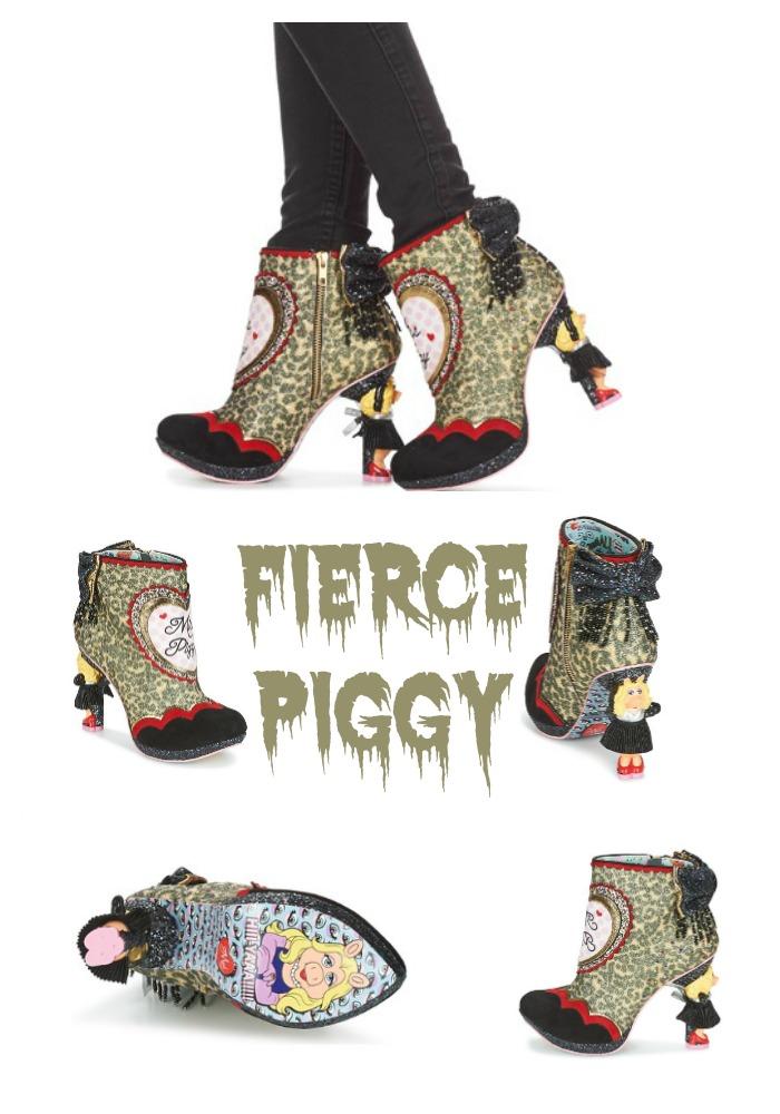 Fierce Piggy Ankle Boots