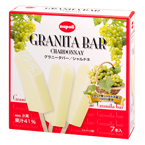 ナポリアイス,GRANITA BAR,グラニータバー シチリアの塩 製品紹介