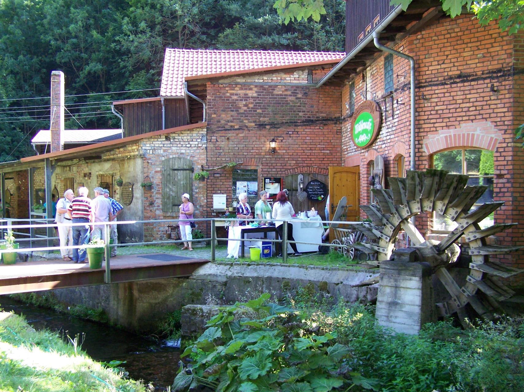 Zahme Geratal, Braunsteinmühle Mühlencafé