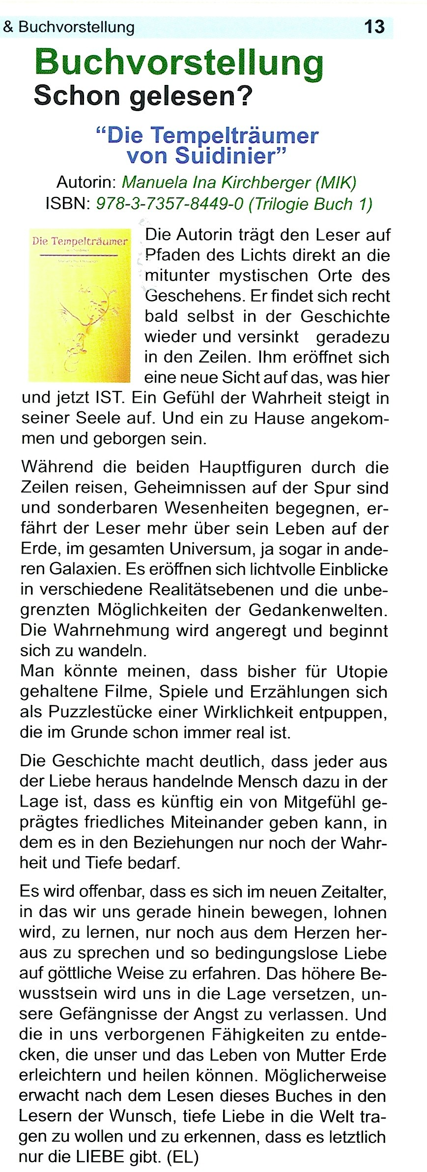 Trommelgeflüster 12/2014 - (mit freundlicher Genehmigung)