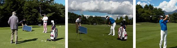 72ヴィジョンゴルフ 撮影風景