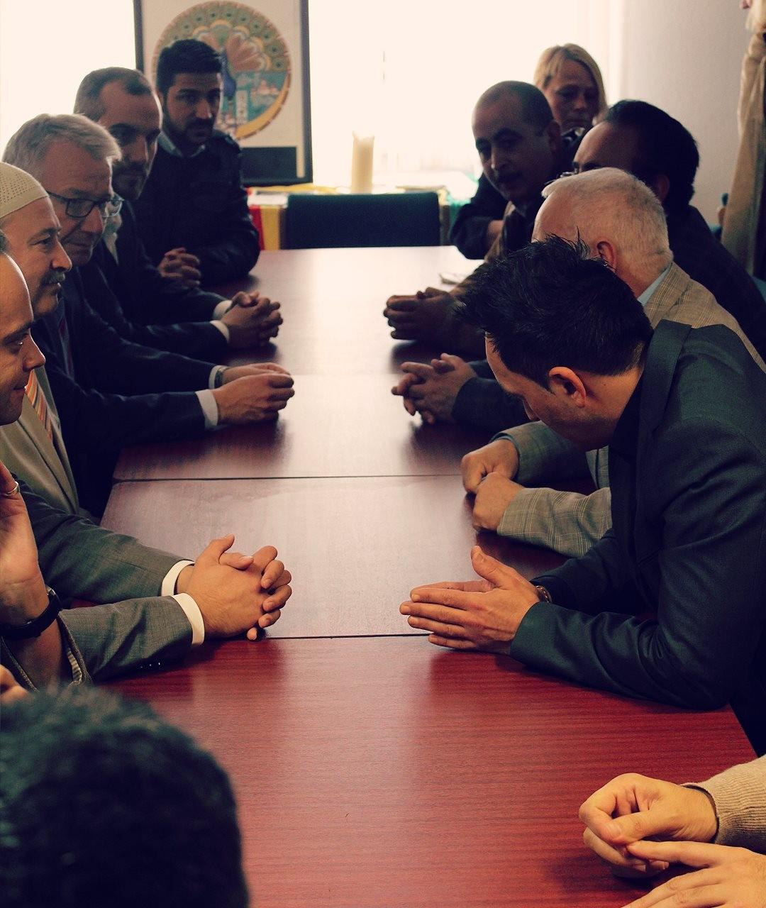 Friedensappell der Celler Eziden und Muslime (10.10.2014)