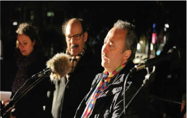 """""""bunt statt braun"""" - Rede von Avni Altiner (15.01.2015)"""