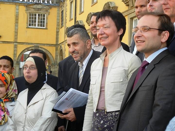 Eröffnungsfeier des Institut für Islamische Theologie mit Abdul-Jalil Zeitun und Prof. Uçar (30.10.2012)