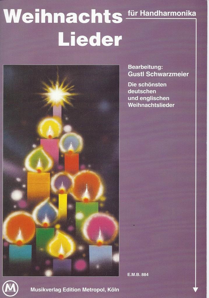 Weihnachtslieder für Handharmonika EMB 884 - Metropol Musikverlage