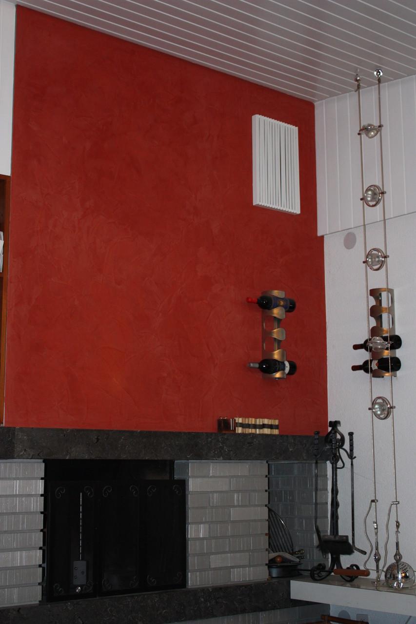 Stucco Wände...