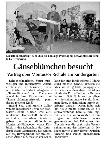 Erschienen in der Vilsbiburger Zeitung vom 3.12.2014