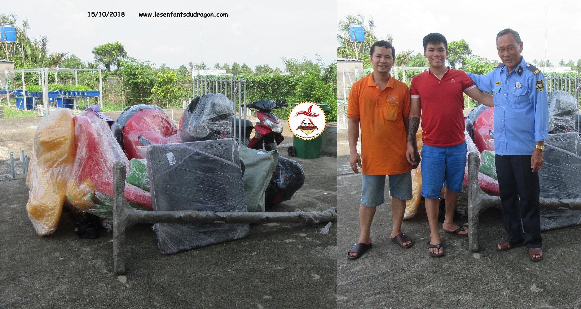Vietnam. Association Enfants du Dragon. Financement de jeux extérieurs (photo1/3)