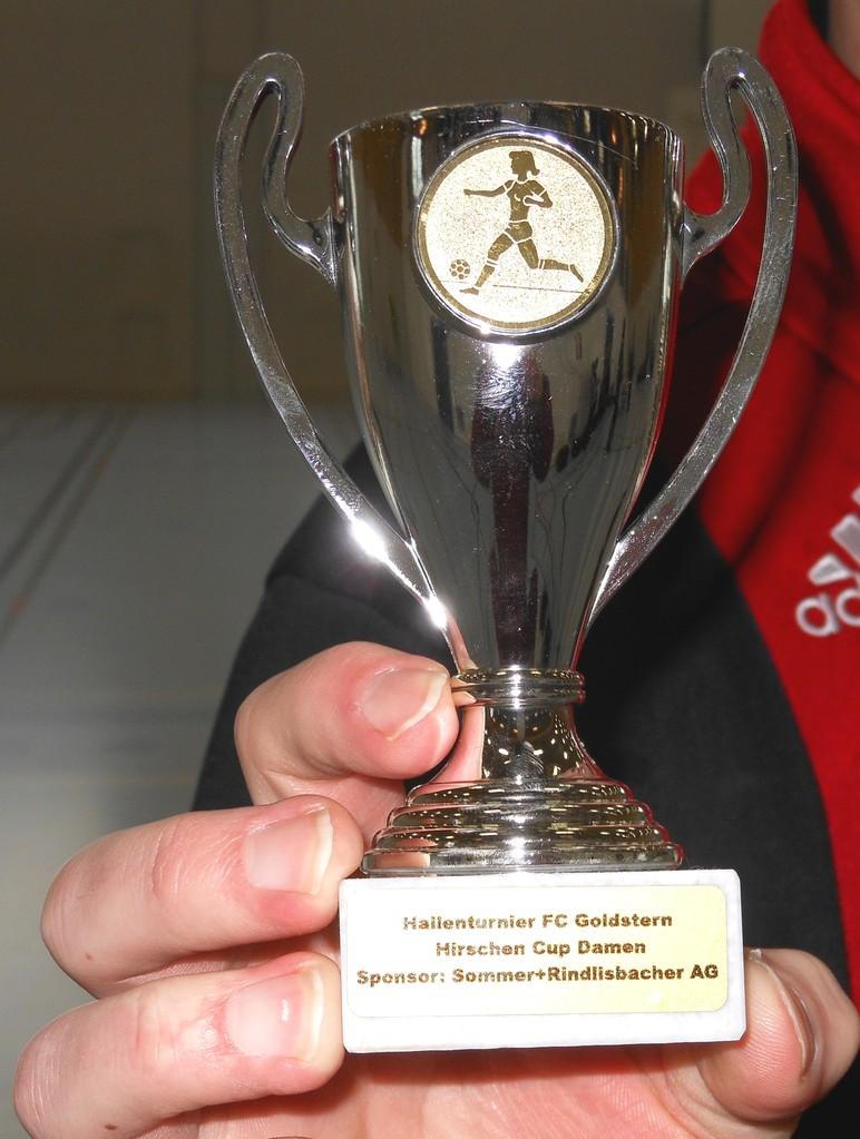 Pokal für Platz 4
