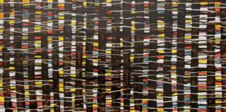 waldstück_herbst_50 x 100 cm