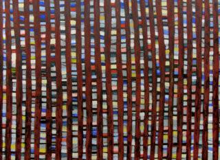waldstück_ 100 x 140 cm