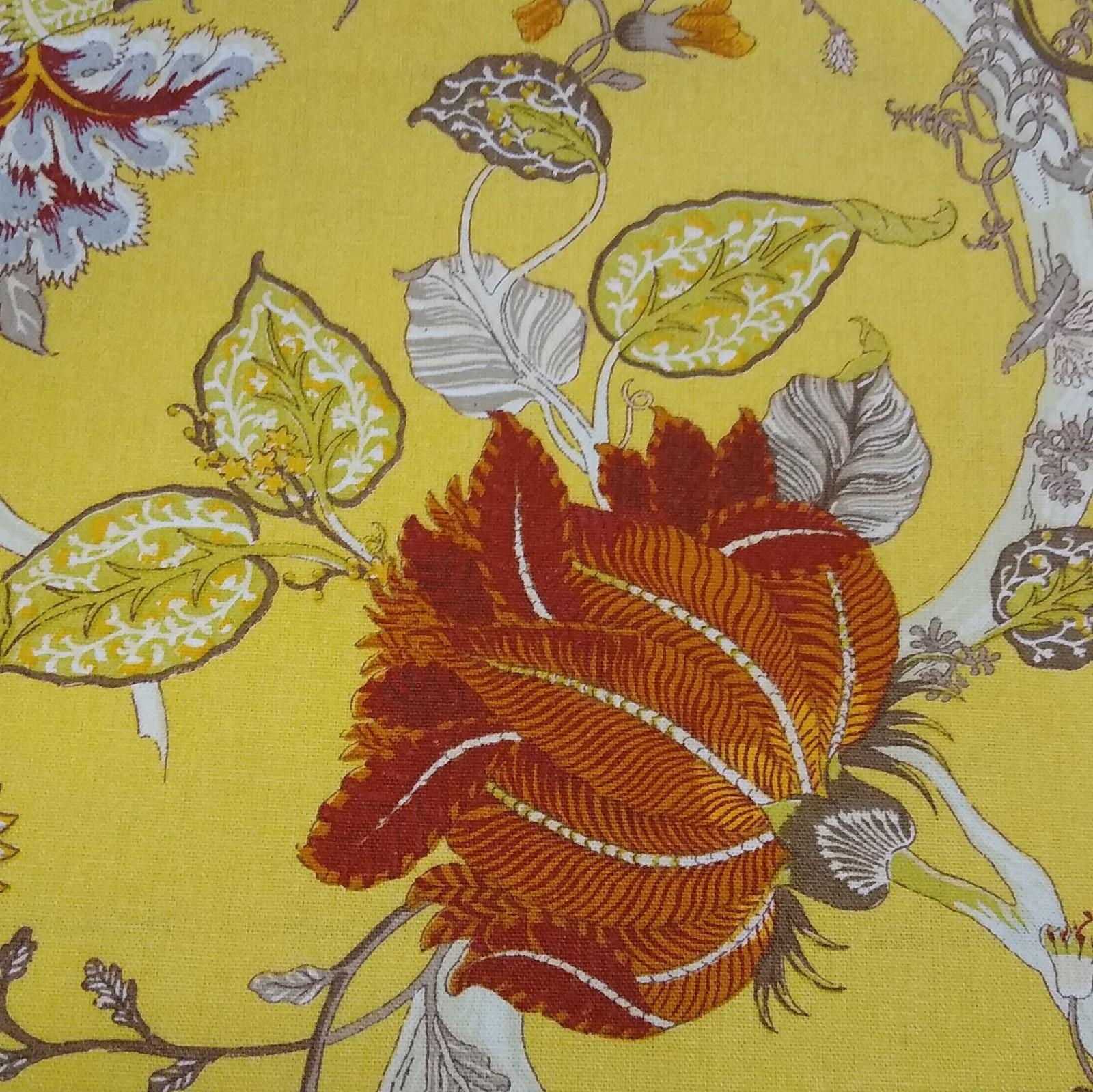 Canvas Blumen, 100% Baumwolle, 140cm breit, 0.5m 8.25€