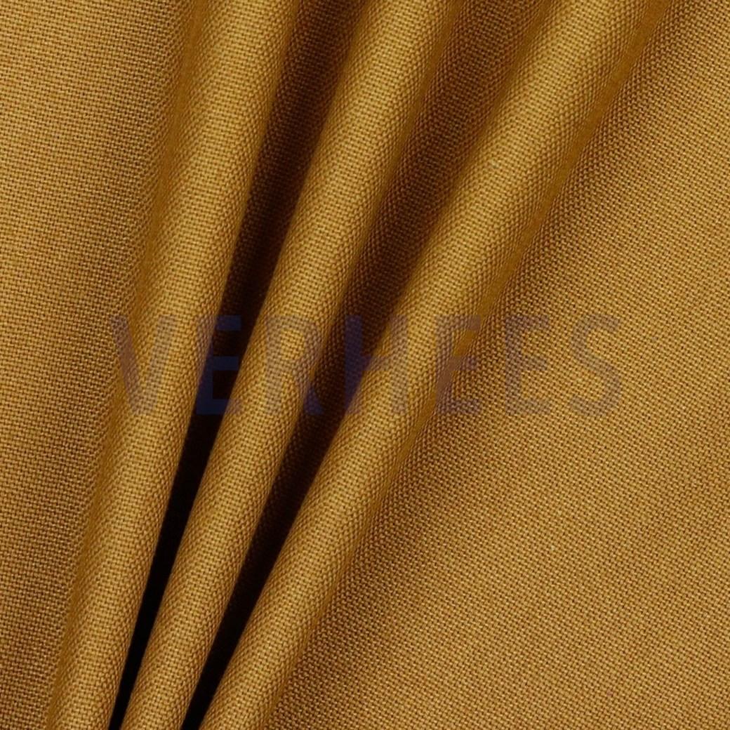 Dekostoff/ Canvas Baumwolle senf, 140 cm breit, 0.5m 6.00€
