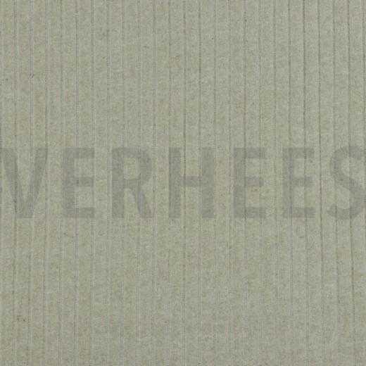 Ribstrick Baumwolle, ecru, 140cm breit, jetzt 0.5m 5.00€