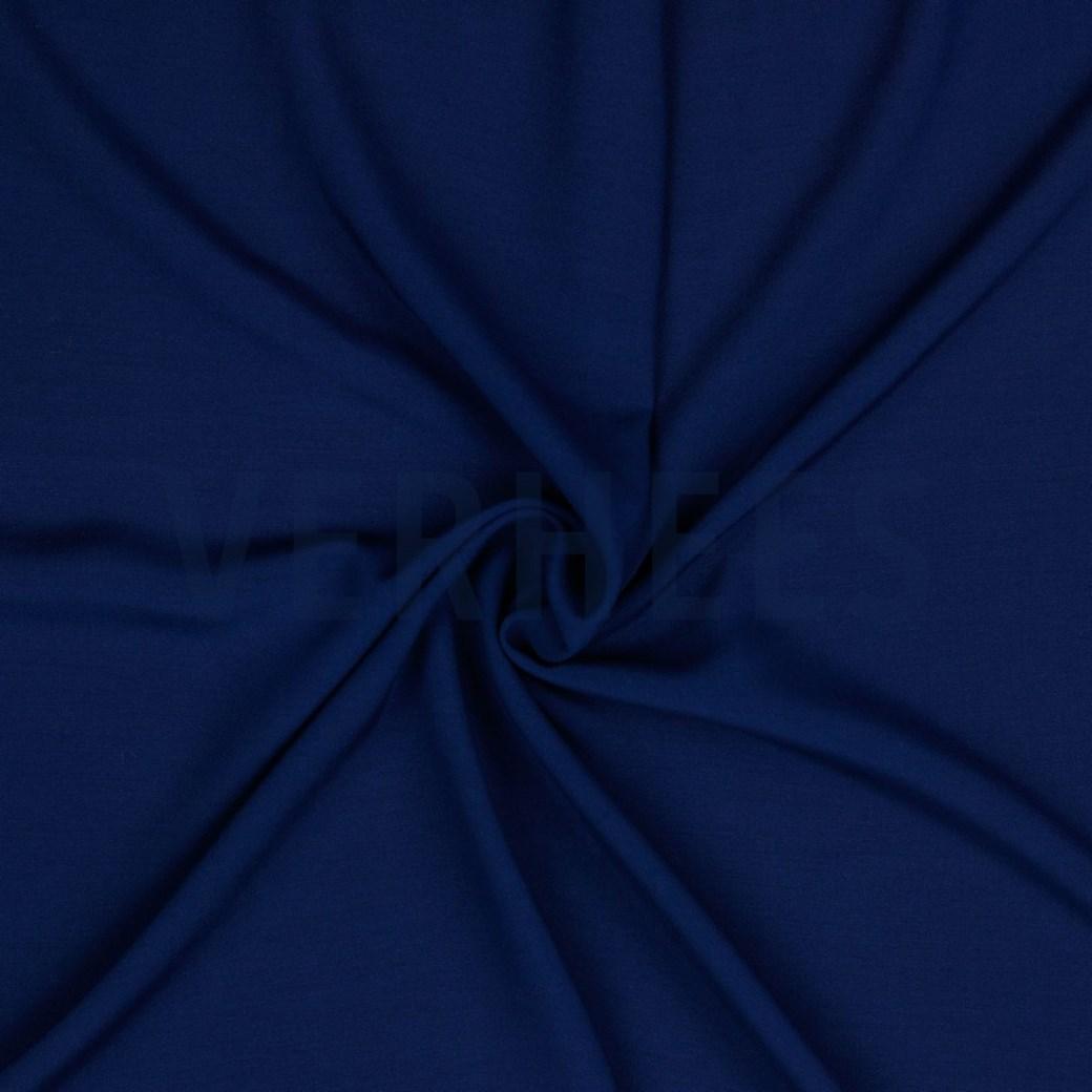 Viskose Webware uni marine, 140cm breit, 0.5m 5.00€