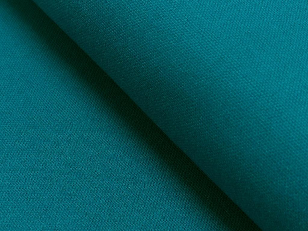 Dekostoff/ Canvas Baumwolle türkis, 140 cm breit, 0.5m 7.00€