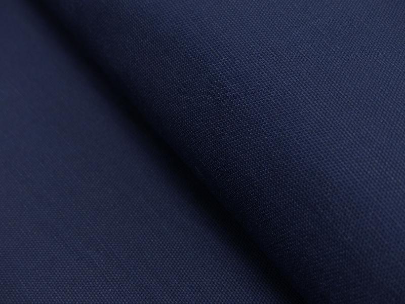 Dekostoff/ Canvas Baumwolle marine, 140 cm breit, 0.5m 7.00€
