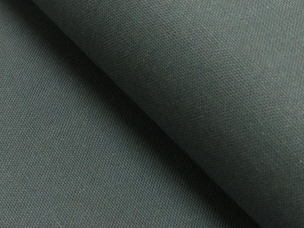 Dekostoff/ Canvas 65% Baumwolle dunkelgrau, 140 cm breit, 0.5m 7.00€