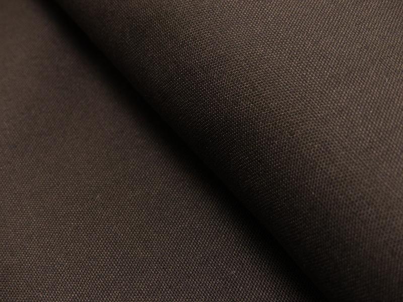 Dekostoff/ Canvas Baumwolle braun, 140 cm breit, 0.5m 7.00€