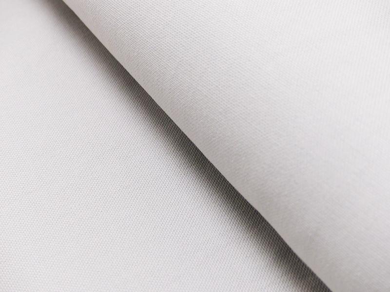 Dekostoff/ Canvas Baumwolle weiß, 140 cm breit, 0.5m 7.00€