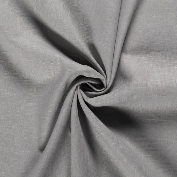 Leinen mittelgrau, 140cm breit, 0.5m 7.00€