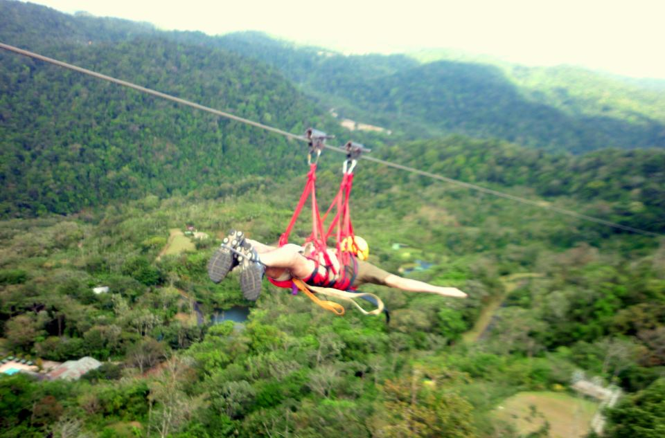 Canyoning + Rafting + Canopy + Superman & Canopy Vista Arenal Costa Rica La Fortuna - Arenal Canopy Tour ...