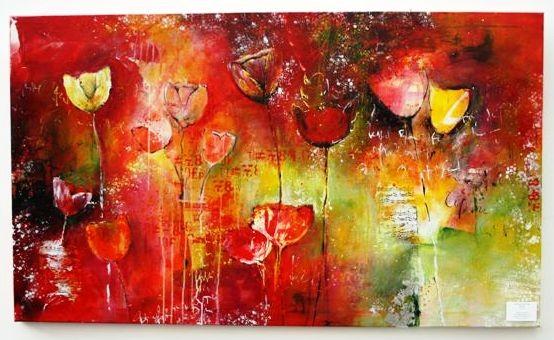 Blumen-Leben-Liebe, 90x155