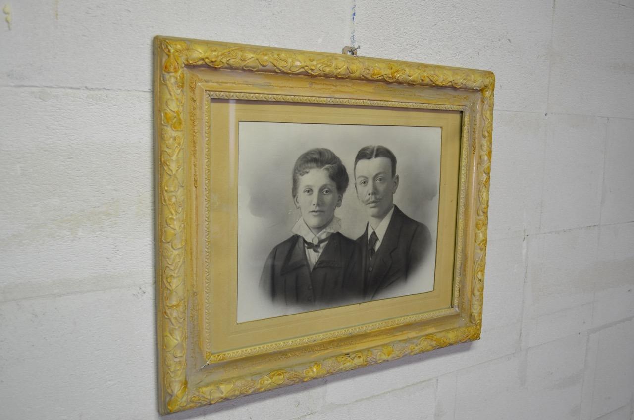 Cadre photo. Afm. 63 x 51 cm.