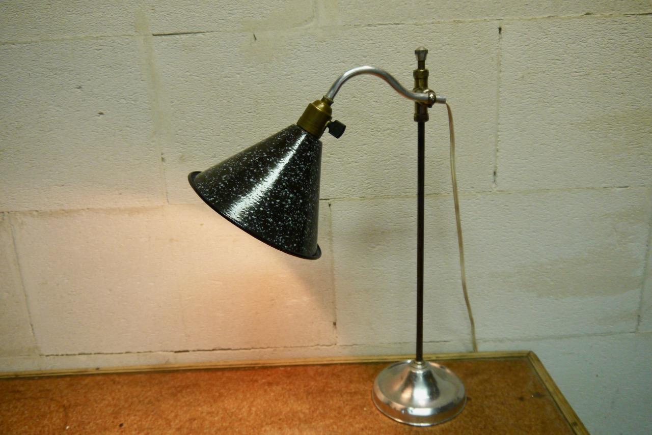 Bureaulamp, traploos hoogte verstelbaar