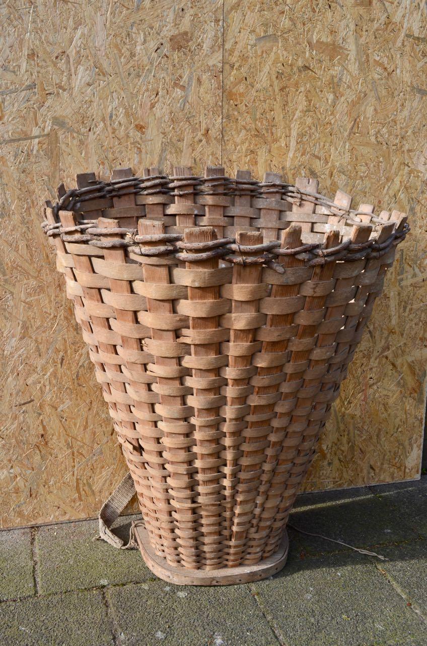 Originele druivenplukkersmand