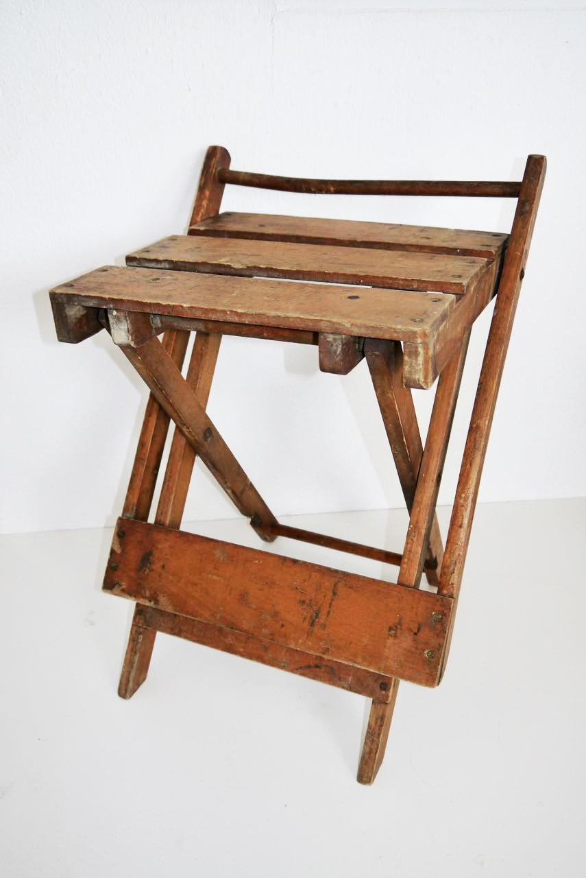 Opklaptafeltje/stoeltje