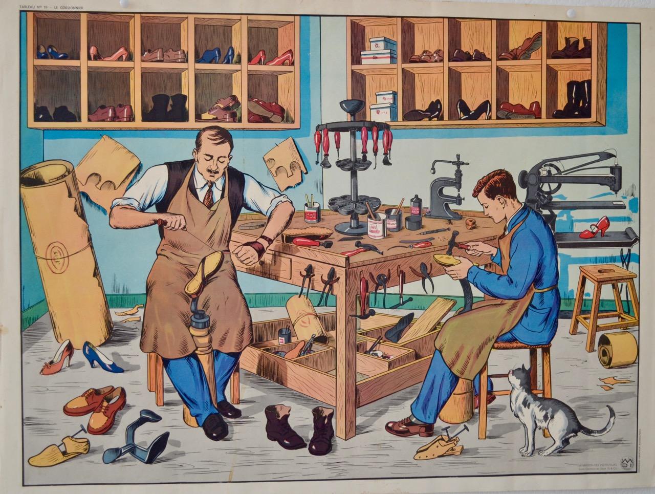 Schoenmaker en Kapper