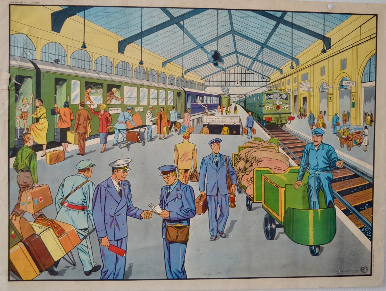 Station en Vliegveld
