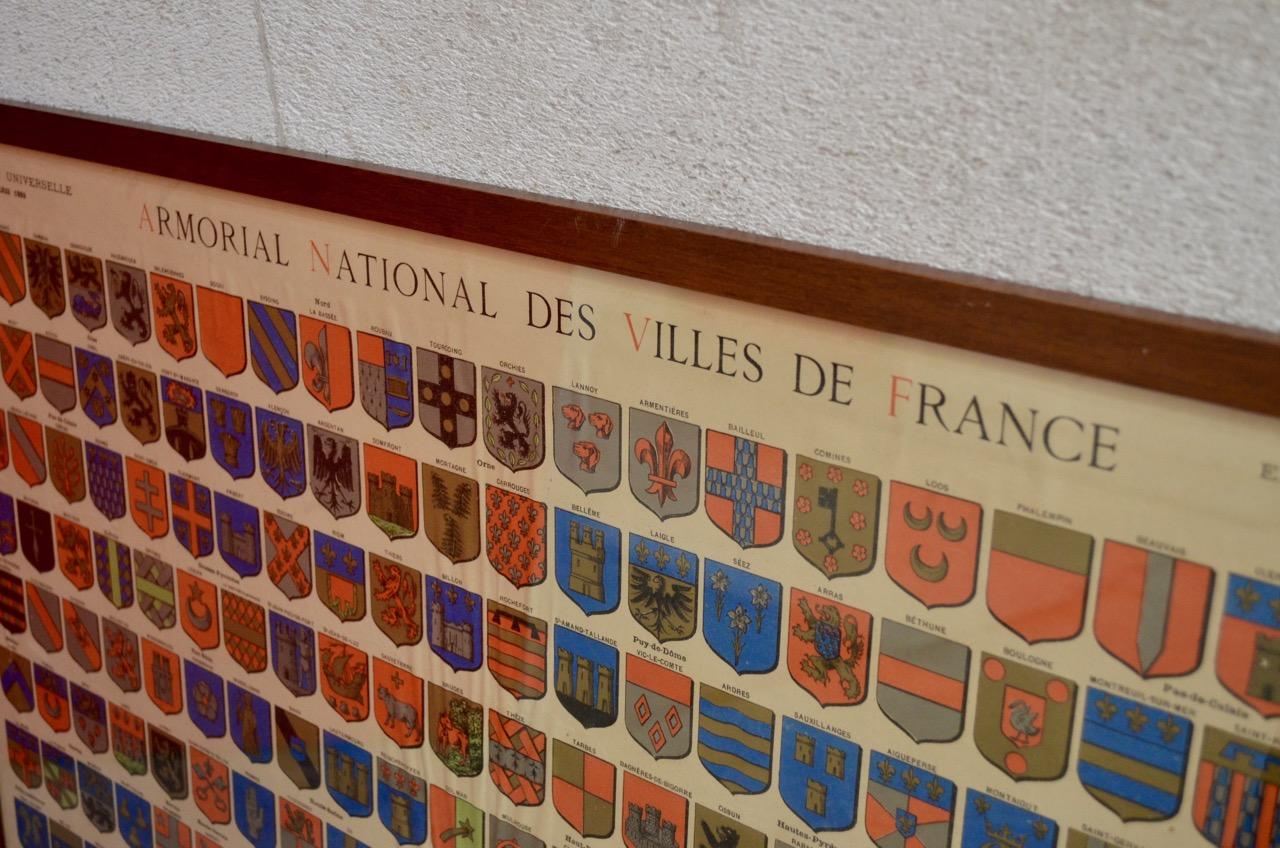 Overzicht plaatsnaamwapens Frankrijk
