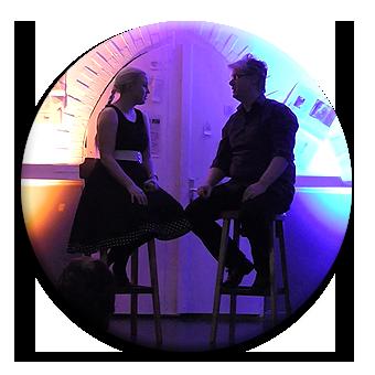 Charlotte & Ralf auf der Bühne mit Comedy und Improvisationstheater