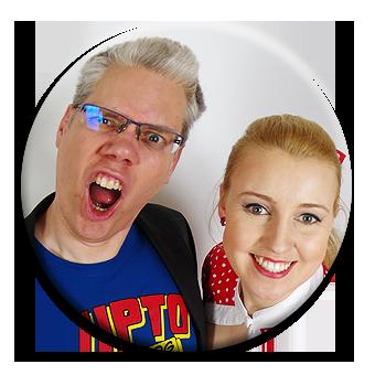 Charlotte & Ralf zegen volle Energie wie bei beim Coaching ihrer Kunden
