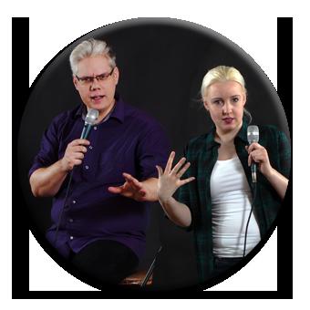 Charlotte & Ralf machen Stand-Up-Comedy