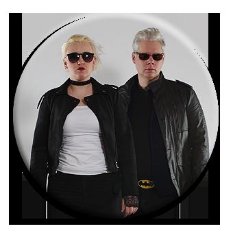 Charlotte & Ralf als toughe Rocker, die dein Projekt auf Herz und Nieren testen