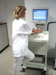 Ergometrie- und Langzeit-EKG-Arbeitsplatz