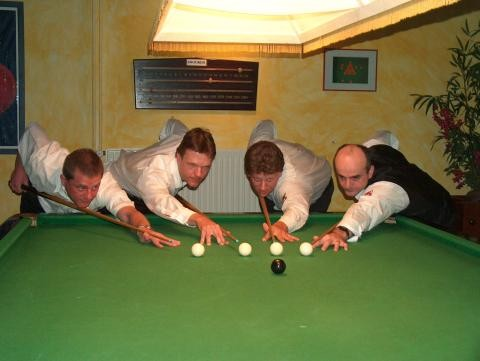 Rainer Schmidetzki, Norbert Schmidt, Martin Ahrens, Bülent Irmak