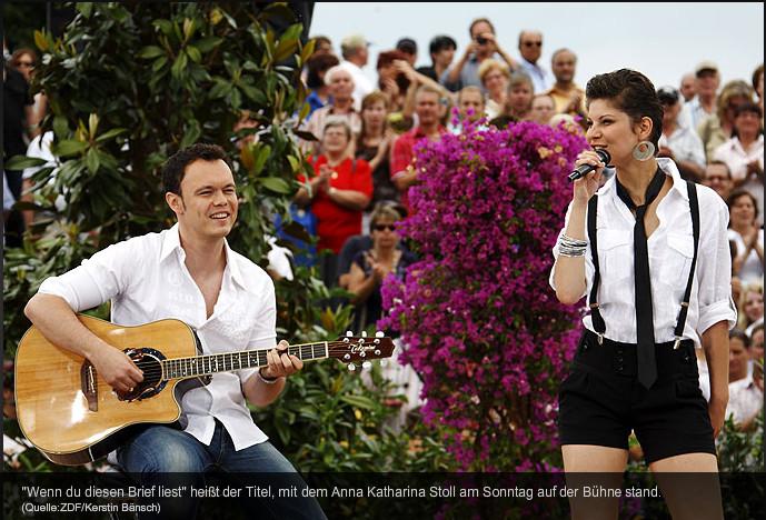 Damian im ZDF Fernsehgarten