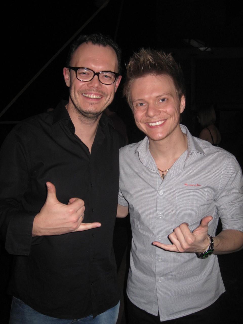 """Damian live @ """"Verstehen Sie Spaß"""" with Michael Teló"""