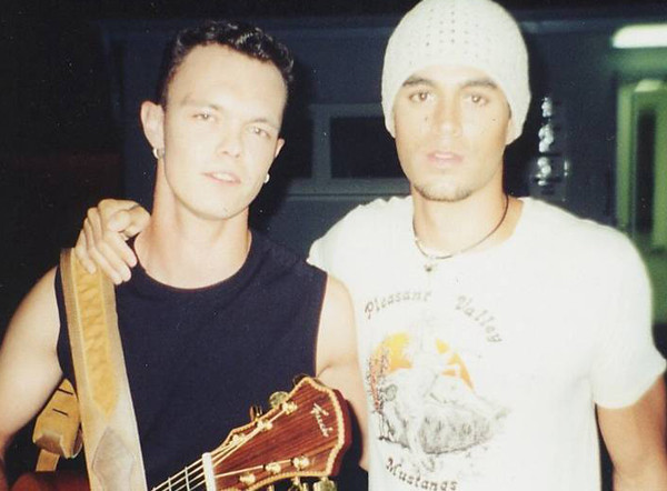 Damian mit Enrique Iglesias bei mVIVA Comet 2006