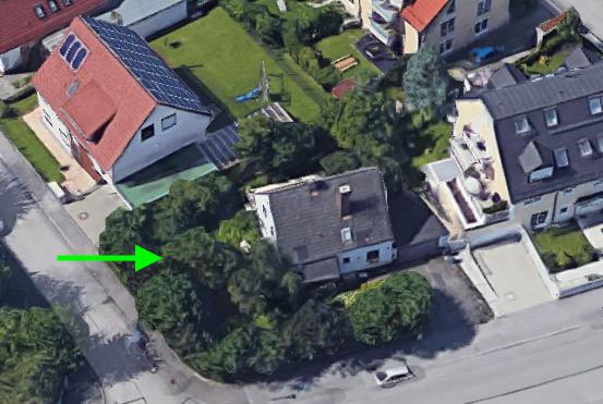 Grundstück in Moosach Donauwörtherstr