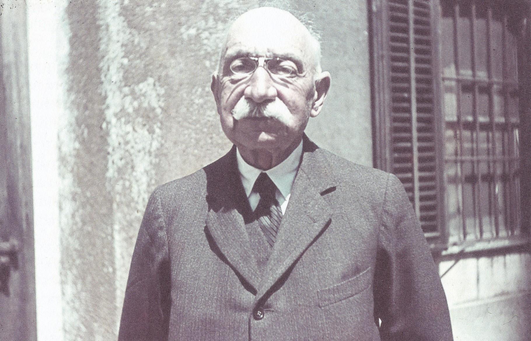 L'ingegnere conte Angelo Ceconi nel 1941 (archivio Ceconi - Kitzmüller).