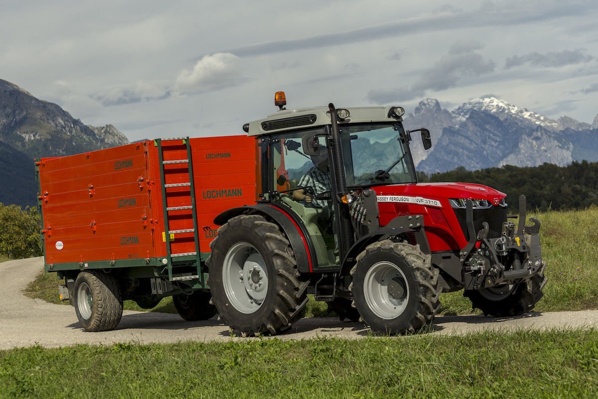 MF 3700 WF-Version beim Transport