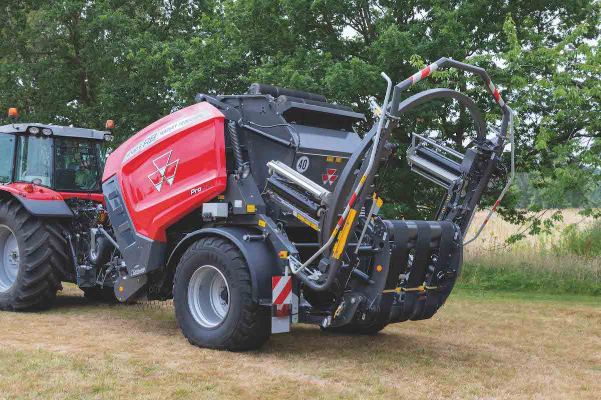 MF RB 4160V ProTech_MF 7718 S_Baler Wrapper